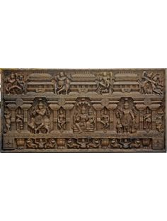 Maha Vishnu and Krishna Large Size Horizontal Wooden Wall Mount ,Lenghty Wooden Wall frame of Lord Vishnu and Krishna Pooja Room Door Design, Wall Decor Design, Wood Wall Decor, Wall Art Designs, Wood Wall Art, Wooden Wall Panels, Wooden Walls, Wooden Doors, Architectural Sculpture