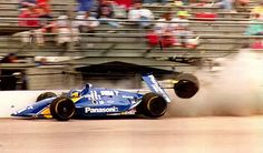 """Hiro Matsushita broke leg in a violent crash at Indy 500 (May 9, 1992)  Hiro Matsushita crashed in practice and missed the 1992 Indy 500 after suffering a broken leg during a practice crash. He was sidelined for several weeks, and missed the next six events as well.Hiroyuki """"Hiro"""" Matsushita (born March 14, 1961, Kobe, Japan) is a former driver in the Champ Car series. Matsushita started his career racing motorcycles in his home country between 1977 and 1979, before making the switch to…"""