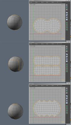 Unwrapping a Sphere? - Polycount Forum