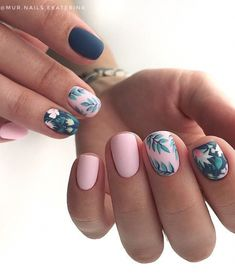 Beautiful Manicure Nails For Short Nails Design Ideas -Square & Almond Nails - Page 111 of 133 - Latest Fashion Trends For Woman Square Nail Designs, Short Nail Designs, Creative Nail Designs, Creative Nails, Best Acrylic Nails, Acrylic Nail Designs, Matte Nails, Fun Nails, Pretty Nails