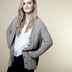 alice starmore 'na craga', turned into a cardigan. ravelry page http://www.ravelry.com/projects/beatka/na-craga