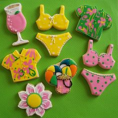 Summer Fun Cookies by Brenda's Cakes - Ohio, via Flickr