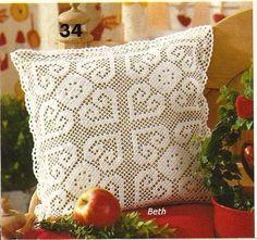 Bonitona esta almofada, prá fazer bonito em qualquer ambiente...sala,quarto,terraço...
