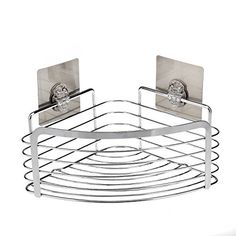 Traceless Triangle Bathroom Shelves Shower Corner Shelf Basket Organi wa