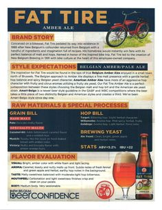 Fat Tire Sell Sheet Front