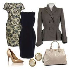 Fashion for women inspired by MAD MEN.
