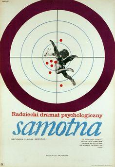 "aheadbyecho1: ""Wings (1966) d. Larisa Shepitko (poster from Poland) #52FilmsByWomen """