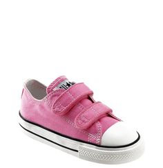 Converse Chuck Taylor® 'Double Strap' Sneaker (Baby, Walker & Toddler) available at #Nordstrom