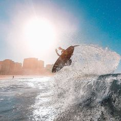 #Repost @gopro  Photo of the Day!@baselanho perfectly timed this shot of pro surfer@tiaguinhoarraes catching some major air in Rio de Janeiro. Share your best surf sessions with us by clicking the link in our profile. #GoPro #Surf #armorx