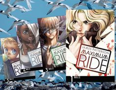 Maximum Ride Manga by James Patterson, adapted by NaRae Lee