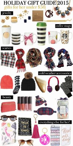 Holiday Gift Guide: Under $50 for Her | Life with Emily | Bloglovin'