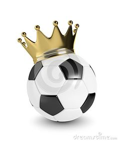 Illustration about rendered soccer ball with a golden crown over white background. Illustration of football, rendering, play - 73256305 Soccer Tattoos, Football Tattoo, Football Soccer, Soccer Ball, Coroa Tattoo, Girl Playing Soccer, Simpson Wallpaper Iphone, Golden Crown, Cute Pikachu
