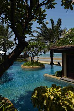 Aleenta Hua Hin, Hua Hin, Thailand. http://www.mrandmrssmith.com/luxury-hotels/aleenta-hua-hin