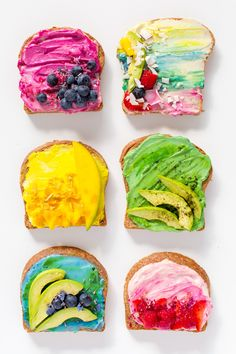 All Natural Unicorn Toast Recipe by top Houston Blogger Ashley Rose of Sugar and Cloth