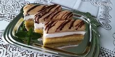 Jablkový zákusok s piškótami (fotorecept) - recept | Varecha.sk