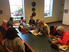 Saturday Crafters do their thing on Saturday, April 22, 3:00 p.m. Bring a project and join them.