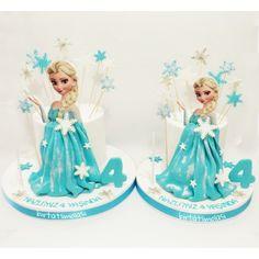 Frozen elsa pasta cake karlar ülkesi