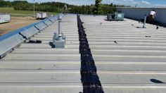 Article: Liquid Rubber Coating Ponoka To Industrial Metal Roof. Below you will find the process of installing a liquid rubber coating. Bragg Creek, Industrial Metal, Roof Repair, Metal Roof, Calgary