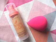 Bright start liquid foundation sponge NOT included but is a perfect partner! £3 foundation is great for medium coverage, on dry, normal and combination skin types. My skin gets really dry so i do recommend this product. Get yours half price today for £5