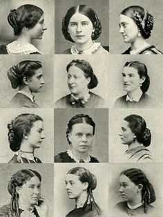 1860 Hair Styles