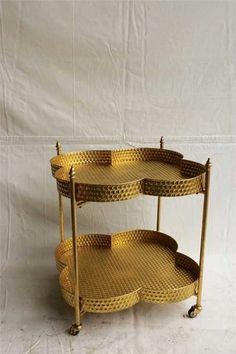 Gold Clover Bar Cart – First of a Kind