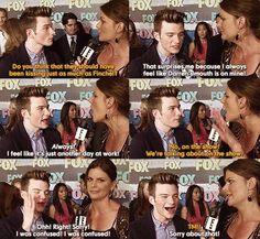 Hahahahahahahah Chris is too precious<3