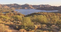 Picture of Bartlett Lake in Arizona