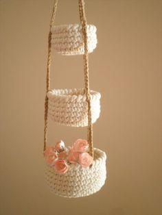 Crochet basket 416583034280257906 - Wondrous Tips: Natural Home Decor Ideas Colour Palettes natural home decor modern rugs.Natural Home Decor Inspiration Living Rooms simple natural home decor baskets.Natural Home Decor Wood Wall Colors. Crochet Gifts, Hand Crochet, Diy Crochet, Quick Crochet, Knitting Patterns, Crochet Patterns, Knitting Ideas, Knitting Room, Confection Au Crochet
