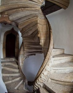 Since we are doing stairs now, I raise you the historic double spiral staircase from my hometown Graz, Austria - Imgur
