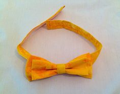 A personal favourite from my Etsy shop https://www.etsy.com/uk/listing/232717380/sunshine-yellow-bow-tie