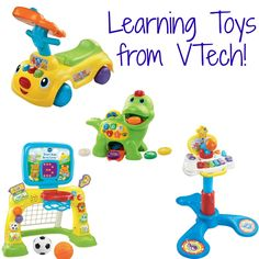 #Learning Toys Perfect for #Toddlers from #VTech! #Toys #preschool #gifts #holiday