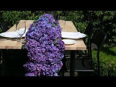 Hydrangea Table Runner - YouTube