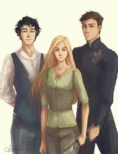 Dorian, Celena and Chaol Throne of glass