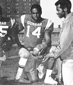 Mr. T. (Laurence Tureaud), Football Photo, Senior Year, Dunbar Vocational High School, 1970