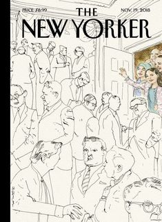 The New Yorker's cover is a tribute to the women and people of color elected to Congress - The Washington Post The New Yorker, New Yorker Covers, Thing 1, Print Magazine, Magazine Art, Arts And Entertainment, Creative Inspiration, Cover Art, Vintage World Maps