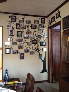Family Tree Photo Wall 30 family picture frame wall ideas | family tree mural, family