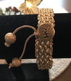 EDITOR'S CHOICE (11/17/2016) Tree of Life Bracelet by Martha Brownell View details here: http://jewelers.community/creations/4082-tree-of-life-bracelet