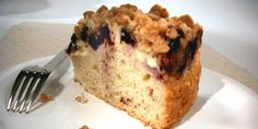 Blueberry Buckle from Anna Olson, Food Network Canada Anna Olson, Blueberry Buckle Recipe, Chefs, Blueberry Crumble, Food Network Canada, No Bake Treats, Cupcake Cakes, Cupcakes, Pinterest Recipes