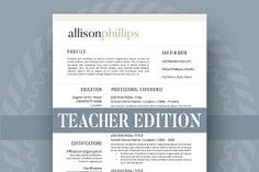 Modern Resume Template for Word Page Resume Cover Letter Student Resume Template, Modern Resume Template, Creative Resume Templates, Cv Template, Cover Letter For Resume, Cover Letter Template, Letter Templates, Cover Letters, Templates Free
