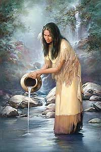 embroidery tape Picture - More Detailed Picture about Diy Diamond painting kits waterfall maiden native american indian home decoration cross stitch kits diamond embroidery patchwork Picture in Diamond Painting Cross Stitch from REDIY LADIY Store Native American Pictures, Native American Paintings, Native American Beauty, American Indian Art, Native American History, Native American Indians, Native American Symbols, Native American Quotes, Native Americans