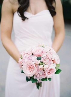 Wedding+Wednesday+::+Pink+Bridal+Bouquets