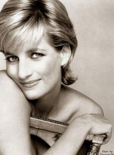 Princess Diana of Wales - loved her hair!