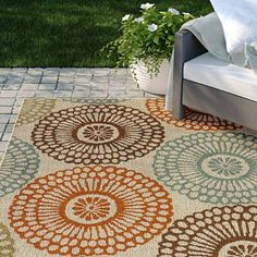 online shopping for Baringer Floral Beige Area Rug Sol 72 Outdoor from top store. See new offer for Baringer Floral Beige Area Rug Sol 72 Outdoor Aqua Area Rug, Navy Blue Area Rug, White Area Rug, Beige Area Rugs, Rug Sale, Indoor Outdoor Area Rugs, Breezeway, Furniture Decor, Furniture Sale
