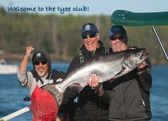 Welcome to the tyee club! Big 36 pound BC salmon landed in Haida Gwaii. http://www.peregrinelodge.com/blog.php?p=216