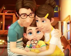 Film D'animation, Short Film, Disney Characters, Fictional Characters, Twins, Disney Princess, Movies, Gifts, Art