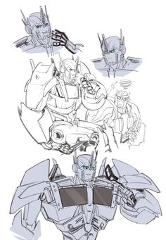 OP time by ShoGuru on DeviantArt Transformers Prime Bumblebee, Transformers Optimus Prime, Comic Collage, Fight Me Meme, Funny Anime Pics, Disney And More, Just In Case, Sketches, Fan Art