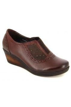 Kadın Kahve Deri Günlük Ayakkabı https://modasto.com/forelli/kadin-ayakkabi/br22873ct13 #modasto #giyim