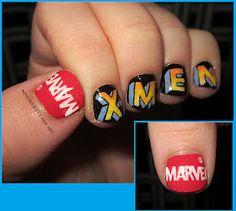 xmen nails - awesome