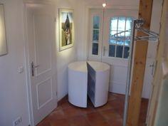Flur/Badezimmerschrank S weiß von Kultschrank auf DaWanda.com