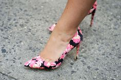 10 Floral Pumps That Will Brighten Your Day